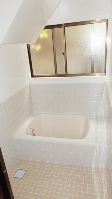 施工後_浴室をリフォーム施工完了